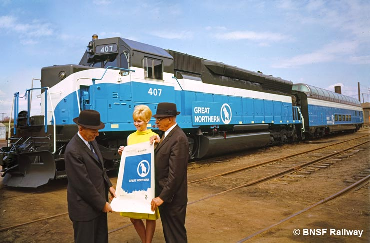 "GN unveils ""Big Sky Blue"" in 1967"