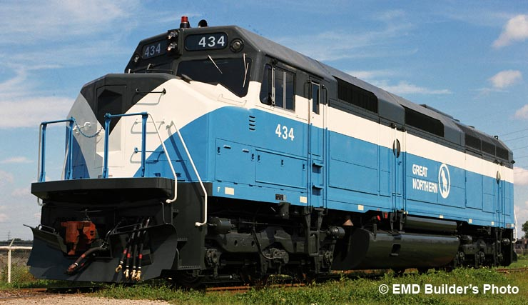 gn 441 luxury locomotive lodge  emd u0026 39 s f45 locomotive  king