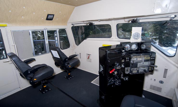Cab of GN 441