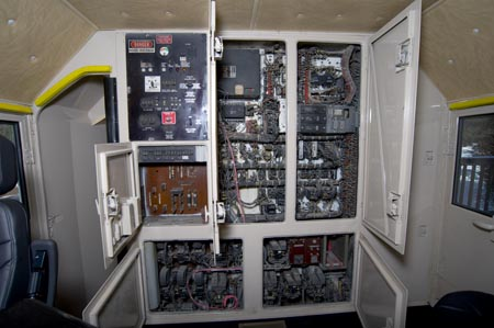 Electrical cabinet of GN 441