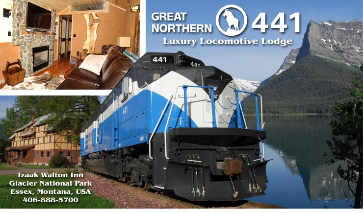 GN 441 Luxury Locomotive Lodge