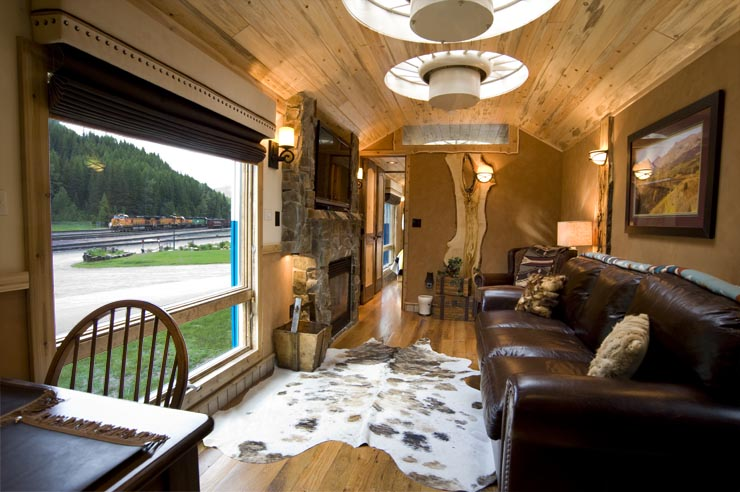 Gn 441 Luxury Locomotive Lodge A Living Room Of Luxury