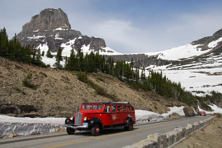 """Jammers"" on Going to the Sun Road"