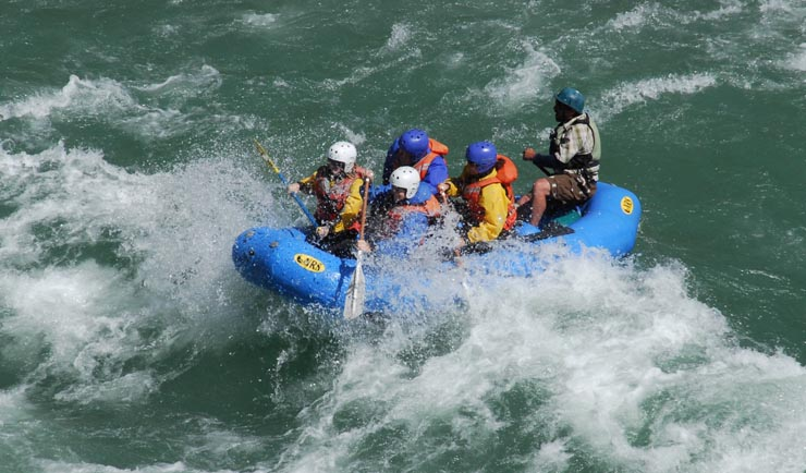Rafting the Middle Fork, Flathead River