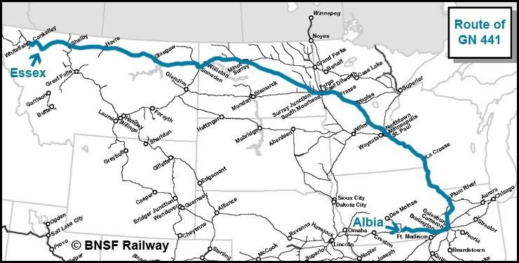 Gn 441 Luxury Locomotive Lodge Westbound To Montana