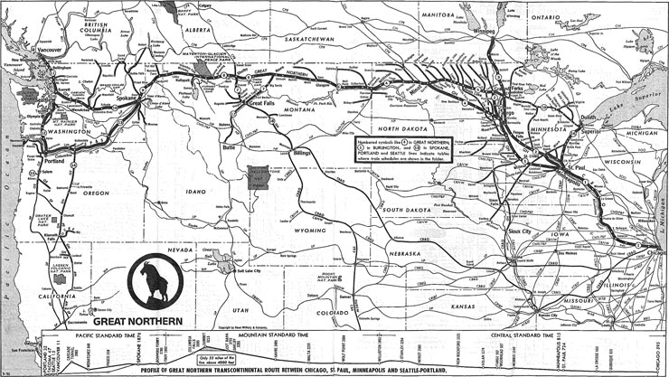 GN 441 Luxury Locomotive Lodge: Site Map